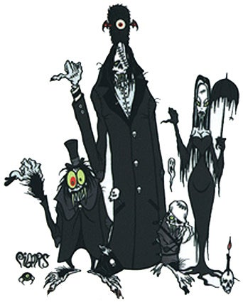 Image of HITCHIKING 4 GHOULS - STICKERS