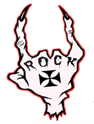 Image of ROCK SEVERED HAND - STICKER
