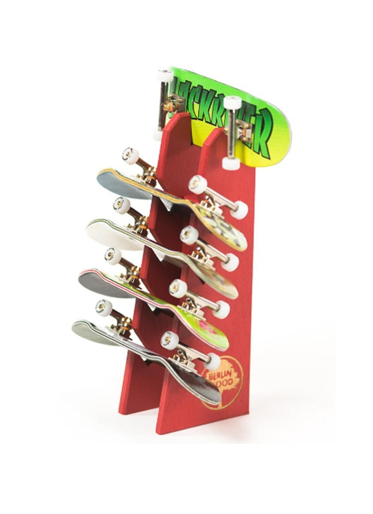 Image of Berlinwood Fingerboard Holder Display Red