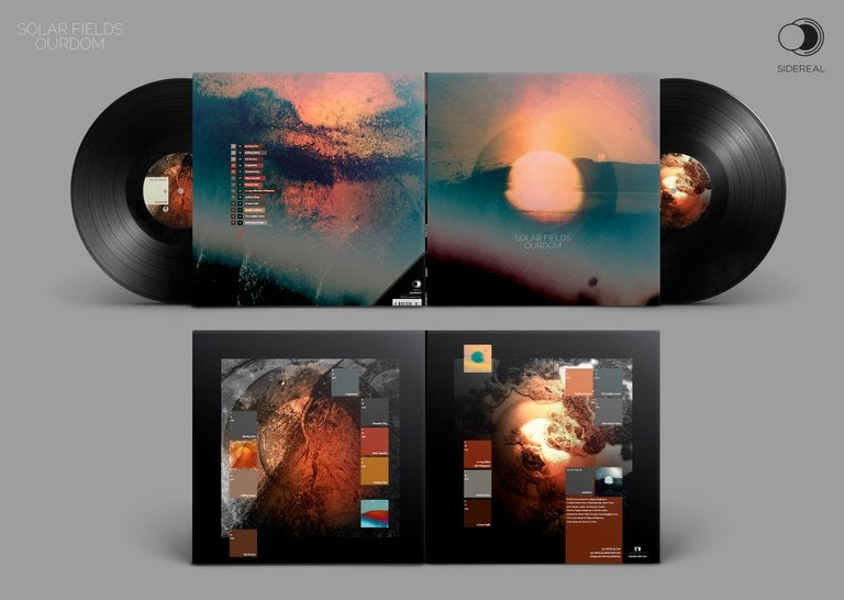 Image of Solar Fields 'Ourdom' Double LP  - standard black Vinyl (preorder)