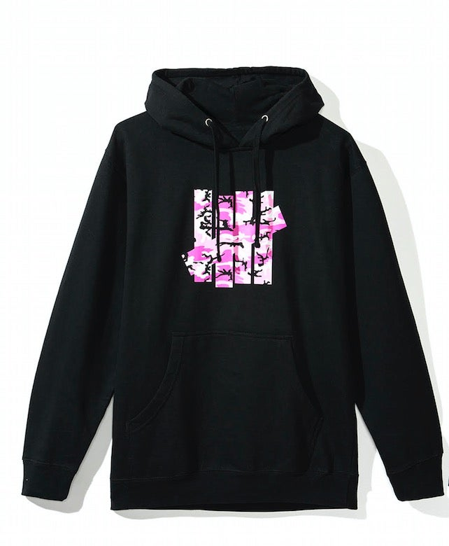 "Image of anti social social club x undefeated ""camo black"" hoodie, brand new"
