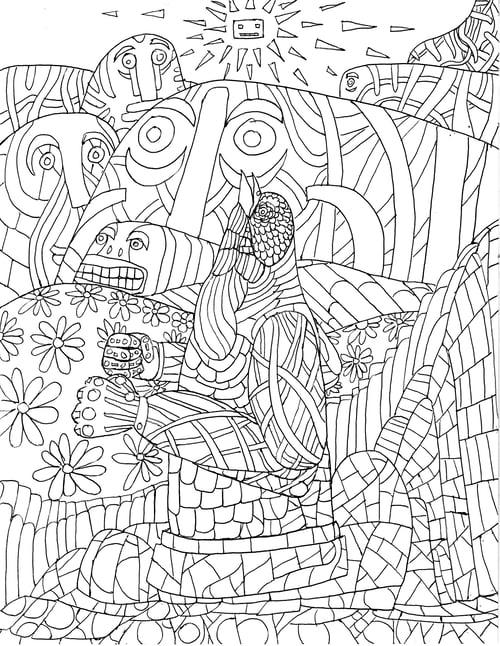 Image of Dan Groth's Colorin' Book