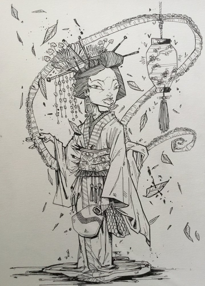 Image of Tentacled Geisha #5757575757
