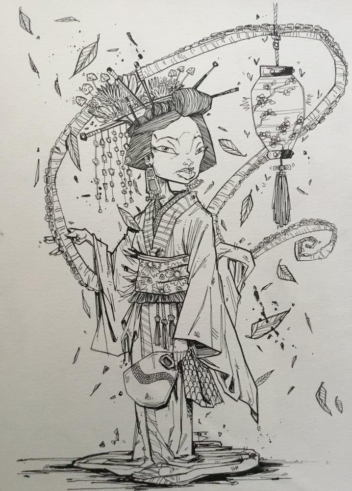 Image of Tentacled Geisha #5757575757