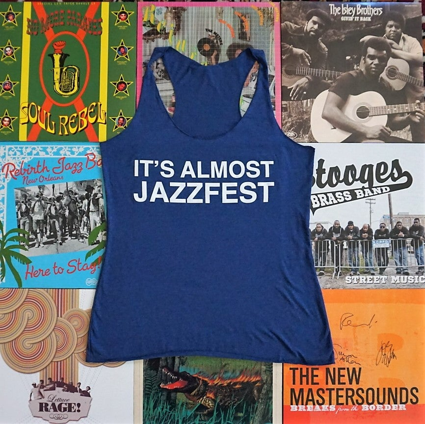 Image of It's Almost Jazzfest Lady's Racerback Tank