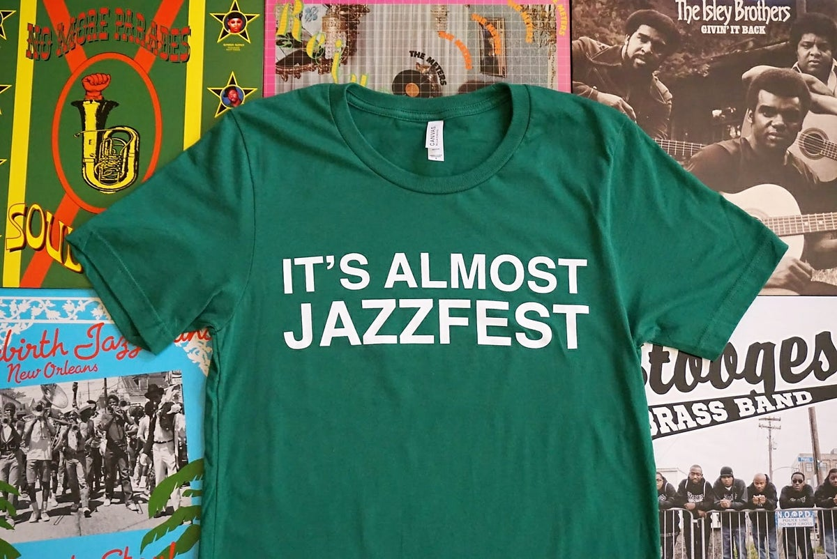 Image of Limited Run: It's Almost Jazzfest Green