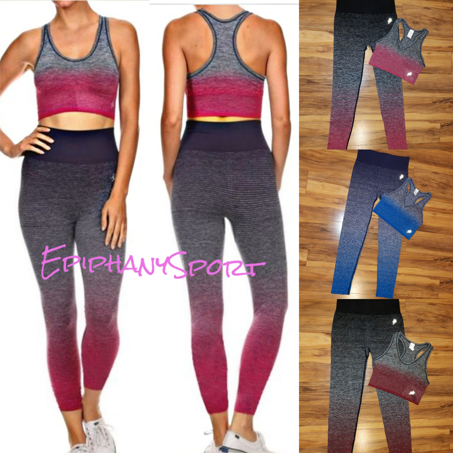 da4aa09f421 ... Image of The Ombre Staci Fitness Set