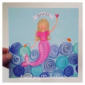Image of Personalised Mermaid Print