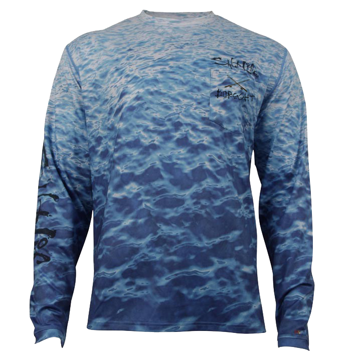 Image of Salt Life Pocket Long Sleeve