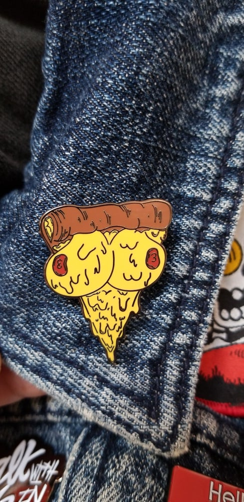 Image of TITTZZA LAPEL PIN