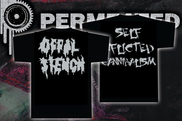 Image of Offal Stench - Self Inflicted Cannibalism - T-Shirt