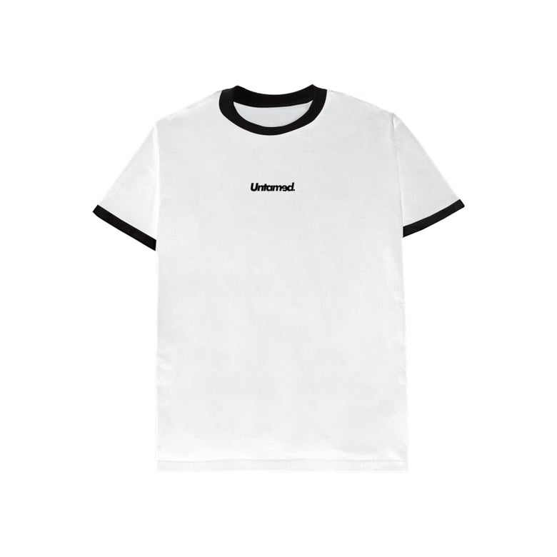 Image of Untamed - White Ringer tee