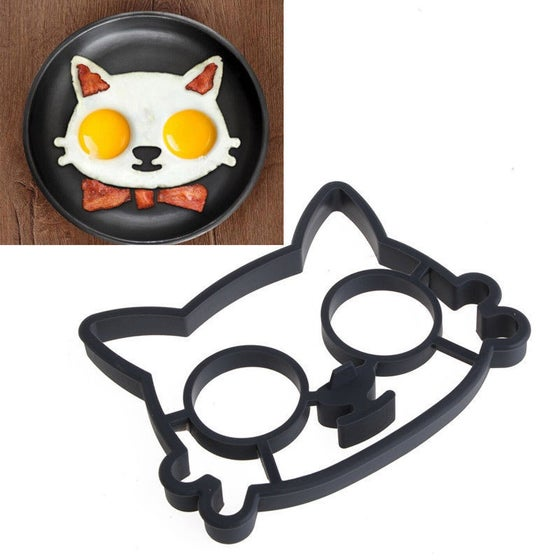 Image of Fried Egg Cat Mould