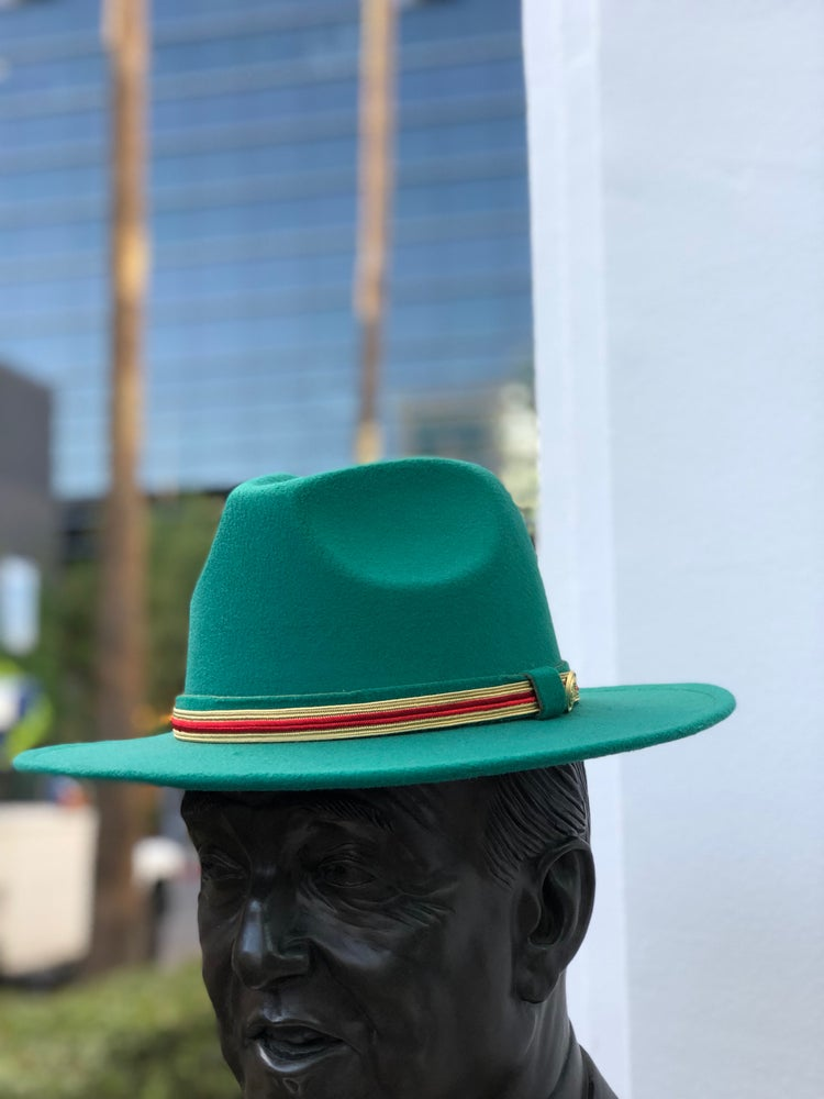 Image of The Safo fedora- green