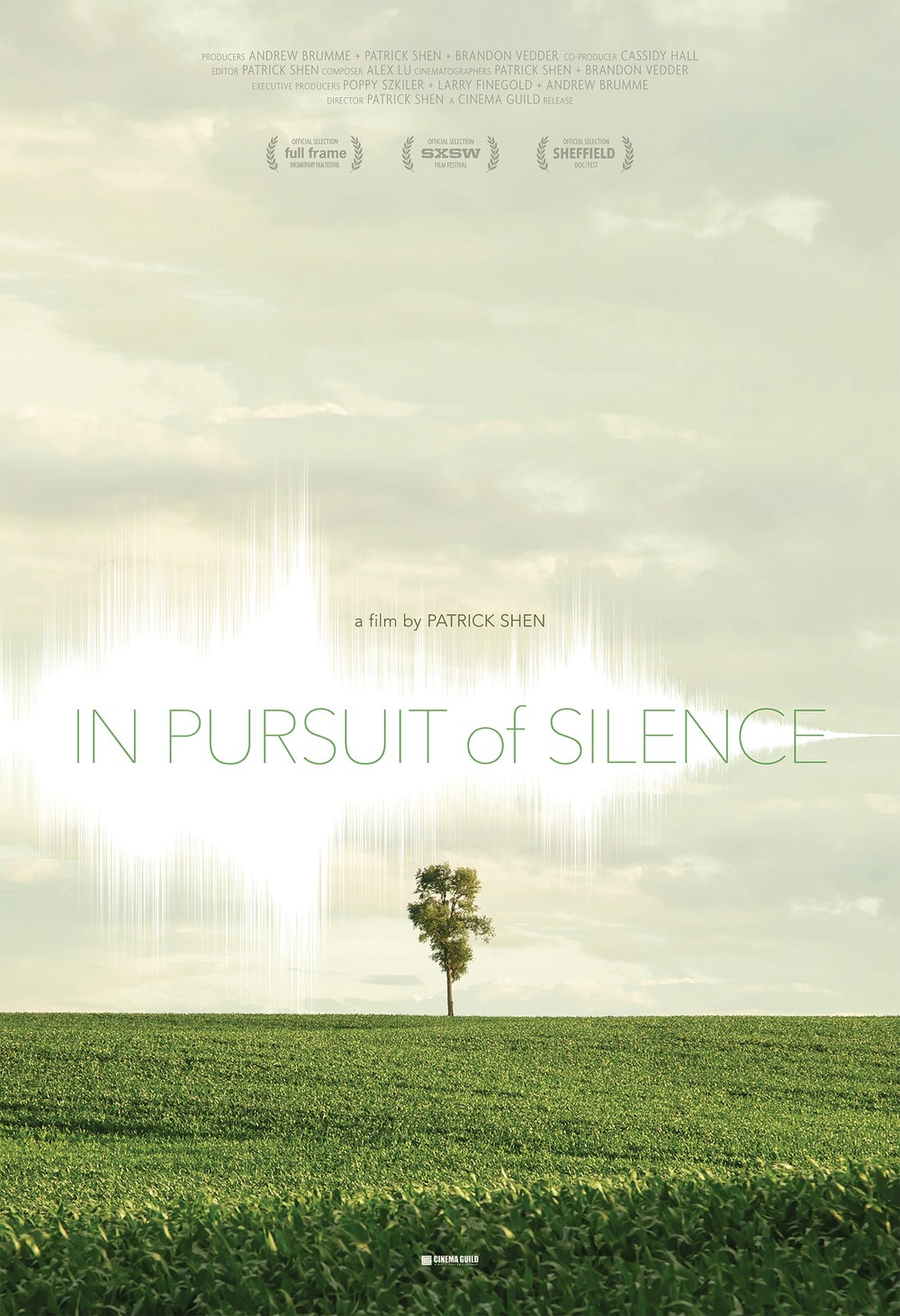 In Pursuit of Silence 11x17 Theatrical & Festival Posters