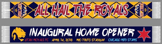 Image of The Court Inaugural home opener scarf