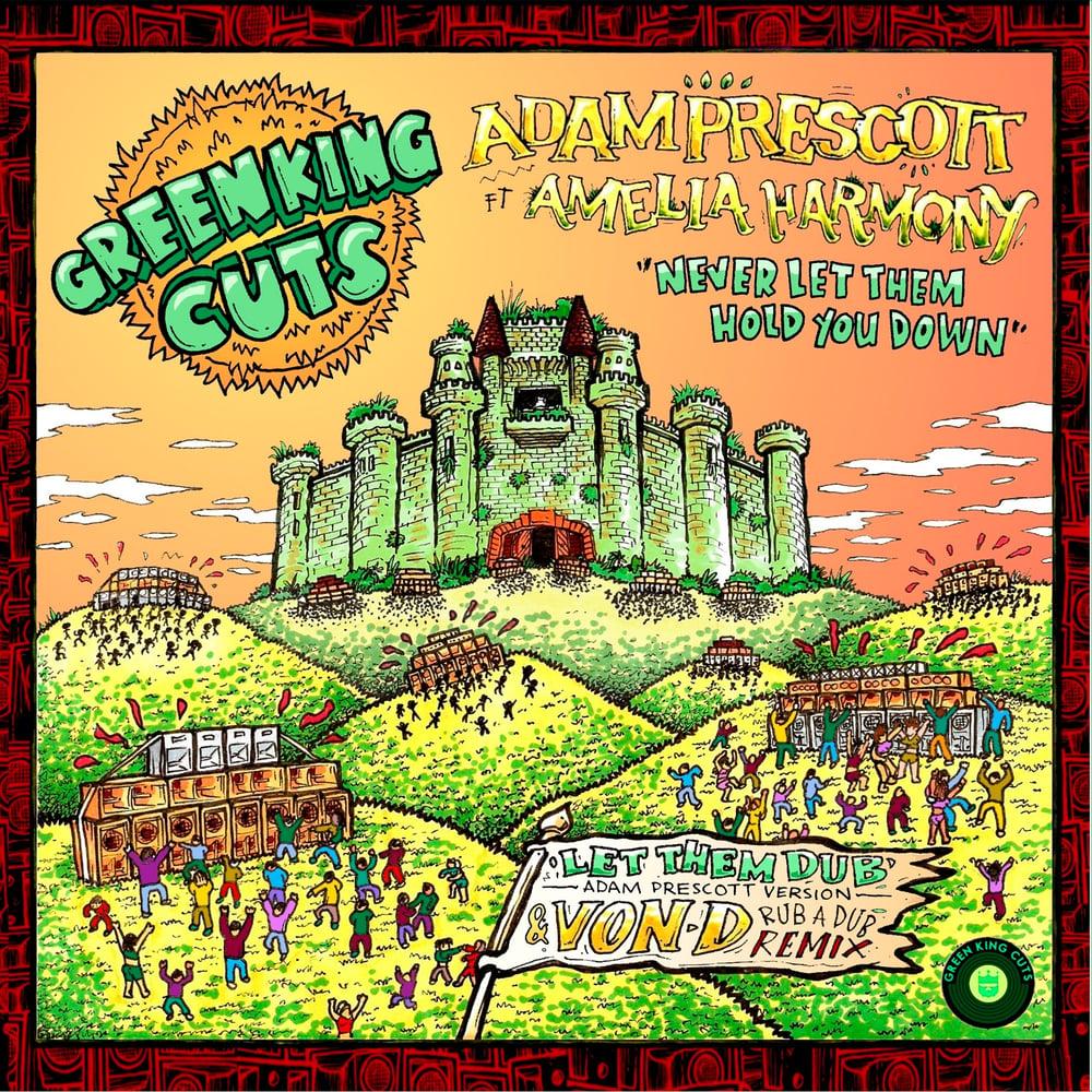 Green King Cuts 003 - Adam Prescott ft Amelia Harmony + Von D Rub'a'Dub Remix