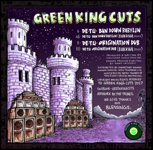 Image of Green King Cuts 002 by DE-TÜ + Bukkha Remix