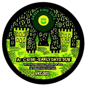 "Green King Cuts 001 by C-Side + Cessman Remix 12"" Vinyl"