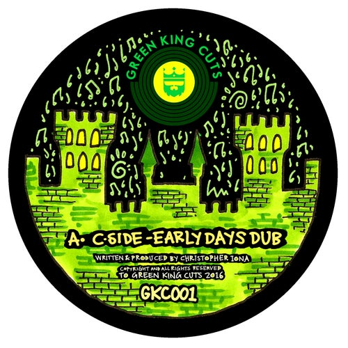 """Image of Green King Cuts 001 by C-Side + Cessman Remix 12"""" Vinyl"""