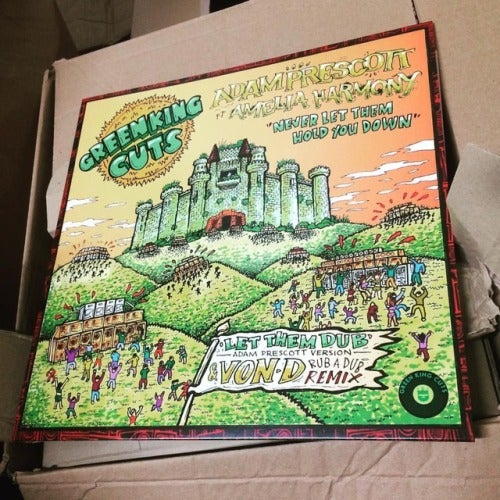 Image of Green King Cuts 003 - Adam Prescott ft Amelia Harmony + Von D Rub'a'Dub Remix