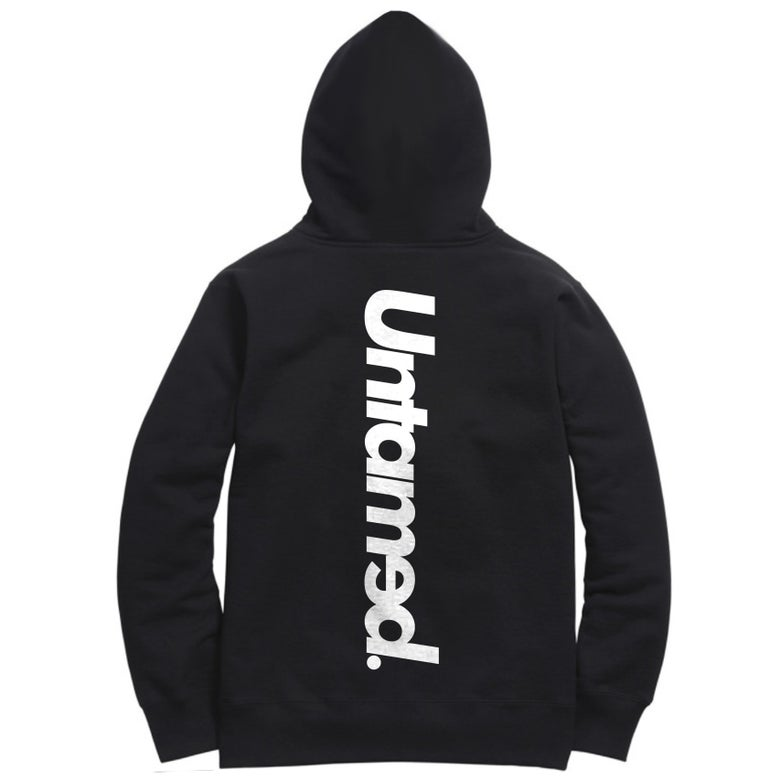 Image of Untamed - Black Hoodie