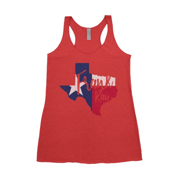 Image of Ladies' Texas Flag Tank-Top