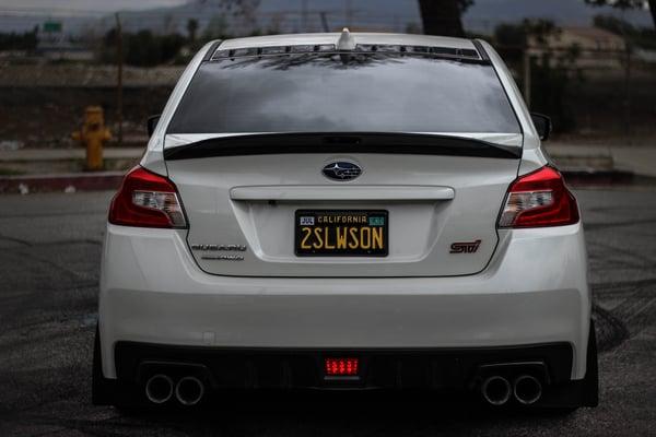Image of Subaru WRX/STI D2 Spoiler