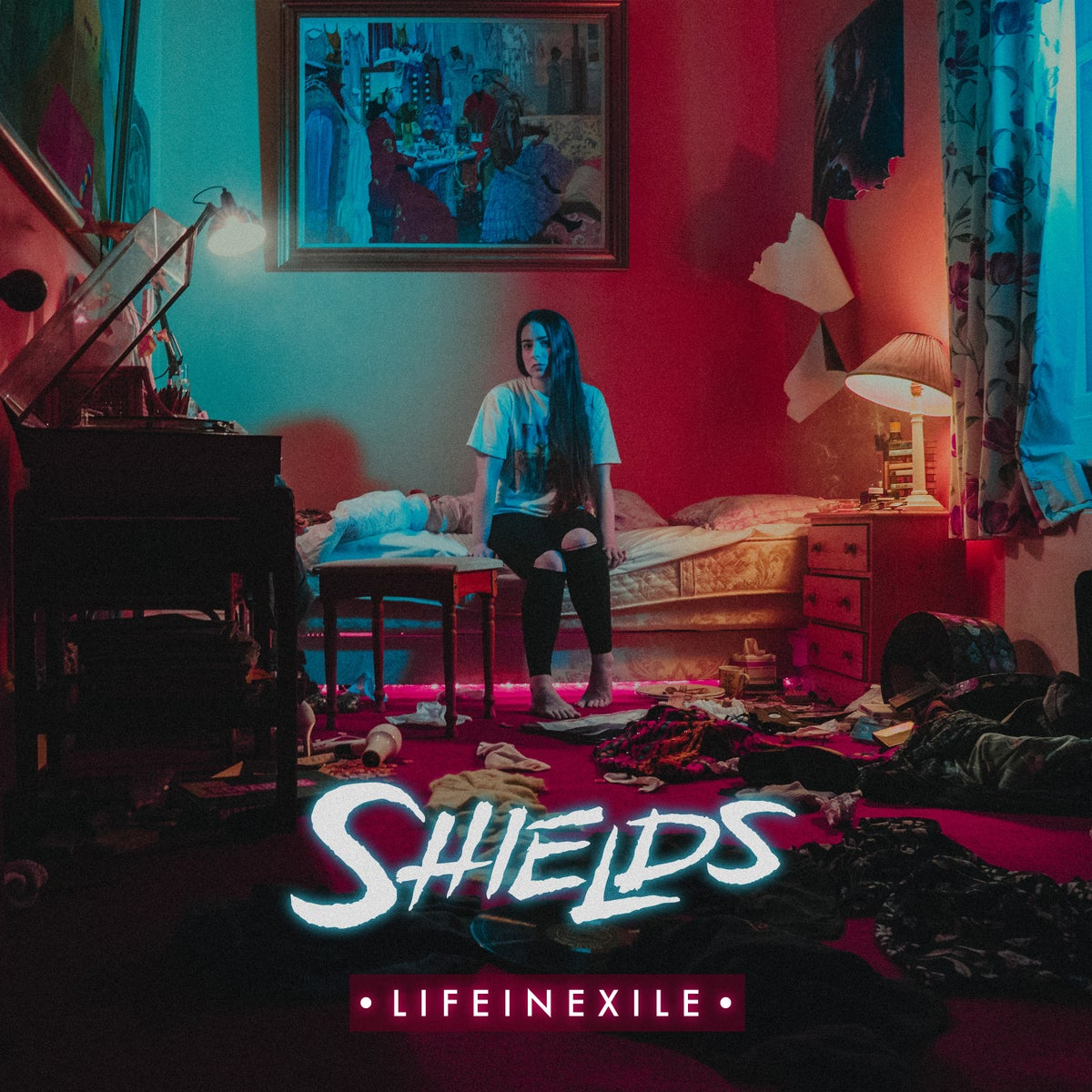 "Image of Shields ""Life In Exile"" CD"