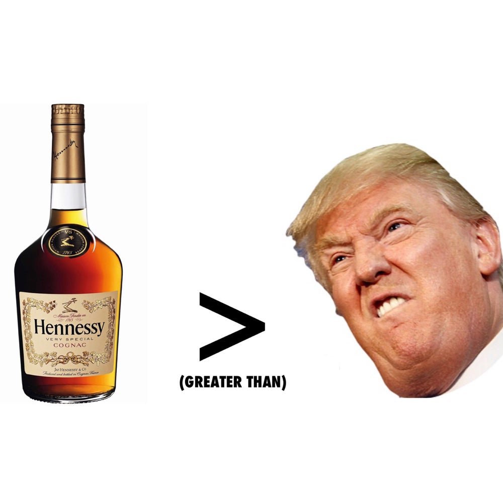 Image of HENNY OVER TRUMP LEVEL 2