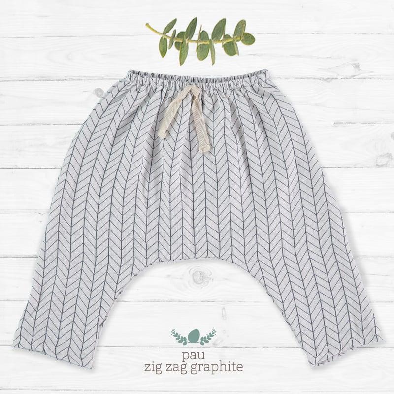 Image of Pantalon Largo ZigZag Graphite (27.50€)