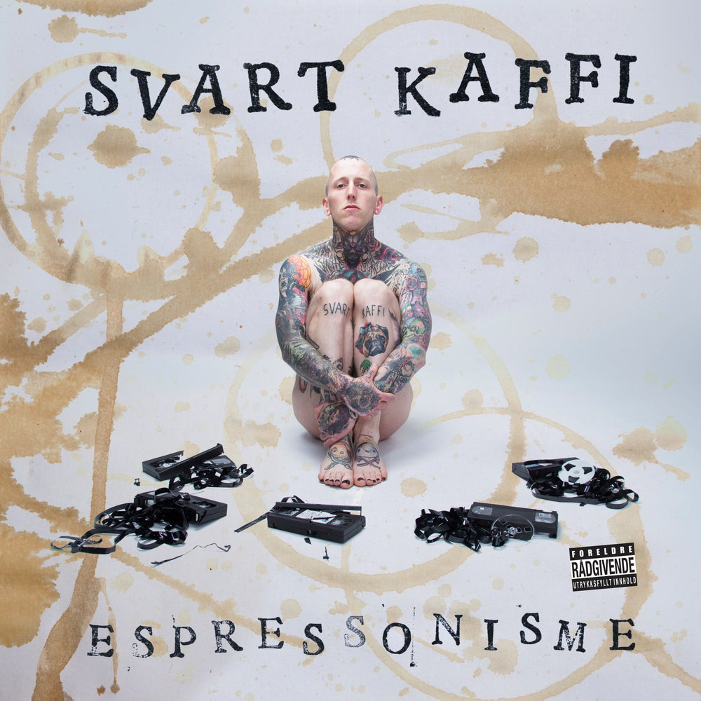 "Image of SVART KAFFI ""Espressonisme"" Limited Edition Pink (VINYL + CD)"