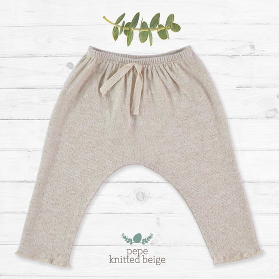 Image of Pantalon Pepe Knitted Beige (27.50€)