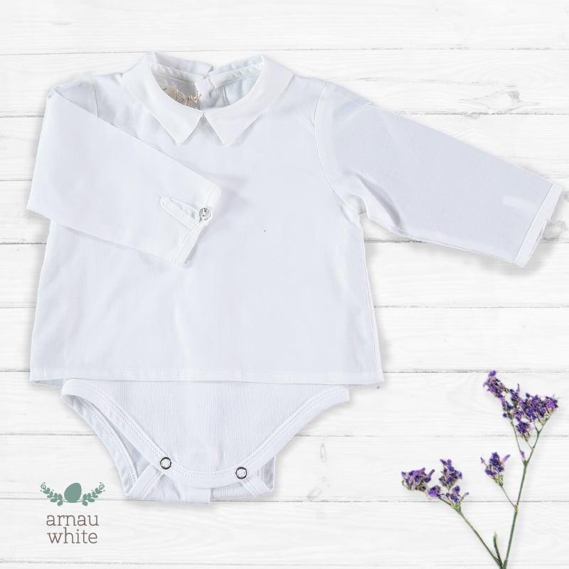 Image of Camisa Body Arnau White (antes 38.50€)
