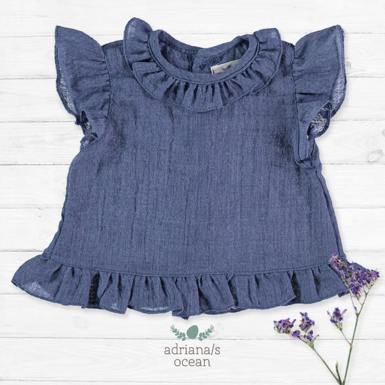 Image of Camisa Adriana/S Ocean (antes 33€)