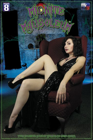 Image of Marlena Midnite - Cuddly Cadaver 24 x 36 poster