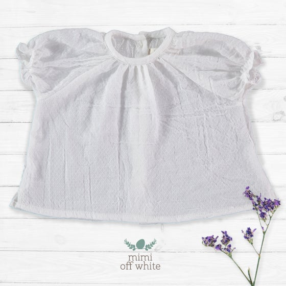 Image of Blusa Mimi Off White (antes 30€)