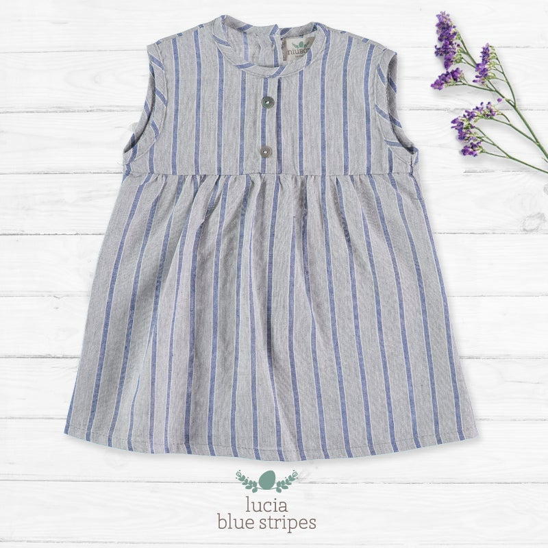 Image of Vestido Lucia Blue Stripes (37€)