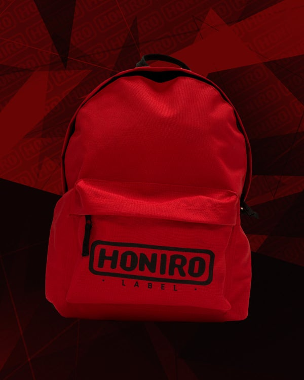 "HONIRO LABEL - SCHOOL BAG ""RED"" - HONIRO STORE"