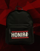 "HONIRO LABEL - SCHOOL BAG ""BLACK"" - HONIRO STORE"