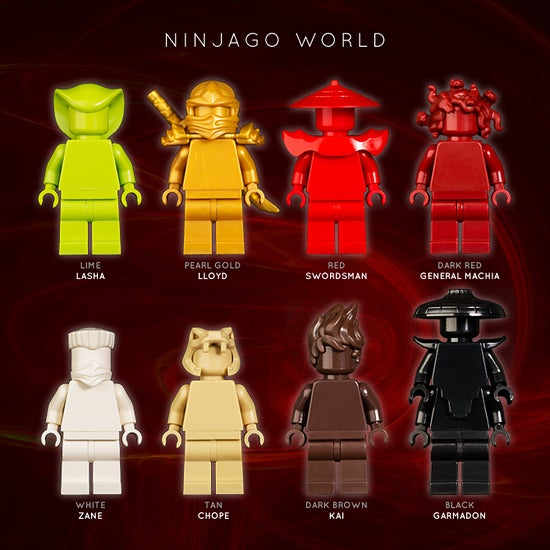 Image of NINJAGO WORLD