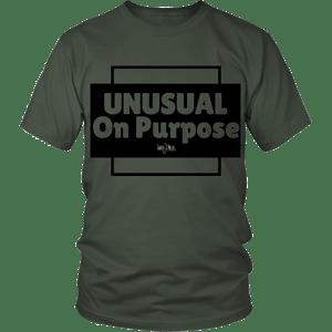Image of Unusual on Purpose shirt