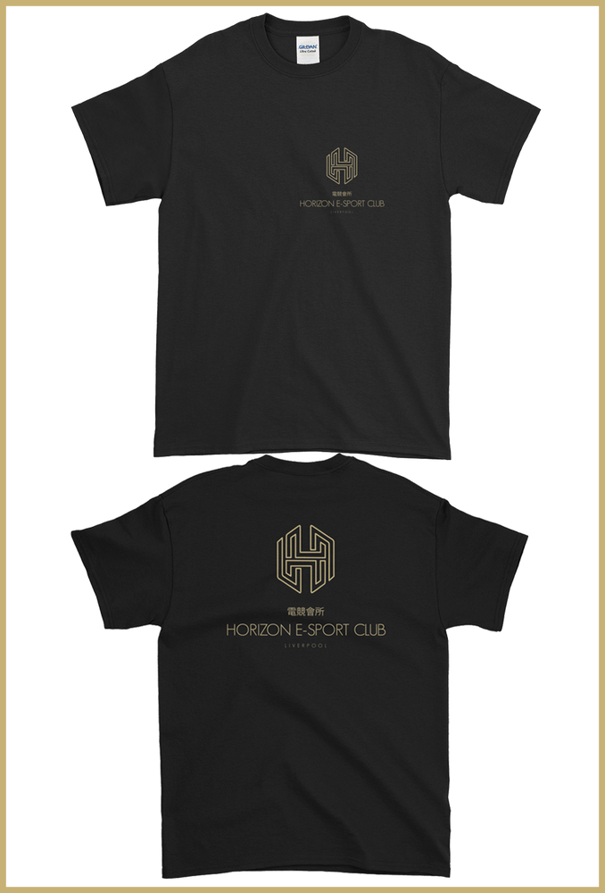 Image of Horizon Logo T-Shirt with Back Print