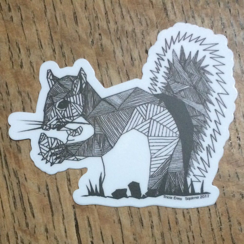 Image of Squirrel Sticker