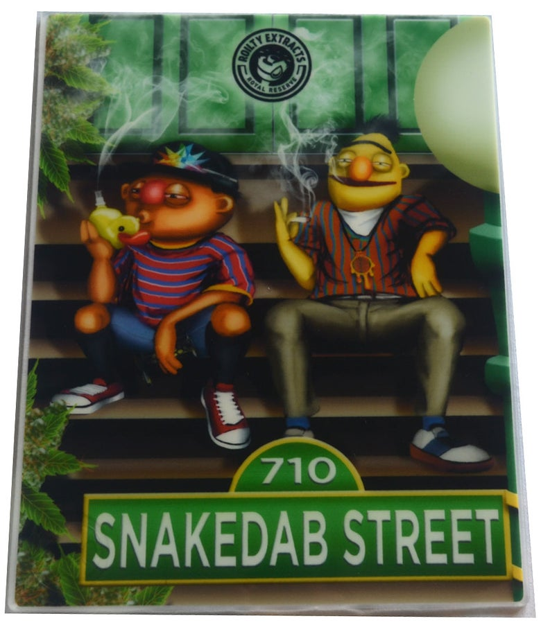 Image of Snakedab Street - Oil Slick