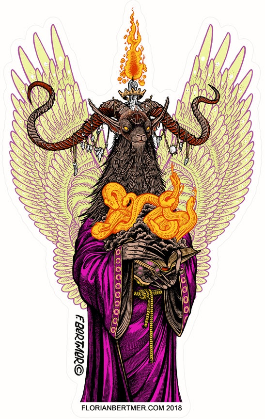 Image of Baphomet Sticker