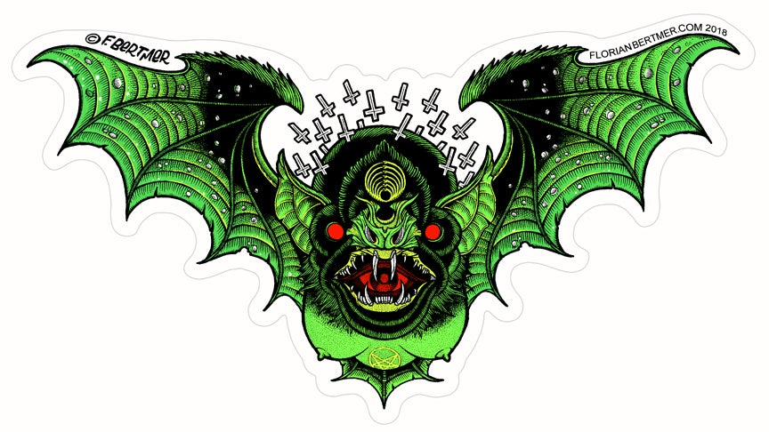 Image of Demon Bat Sticker