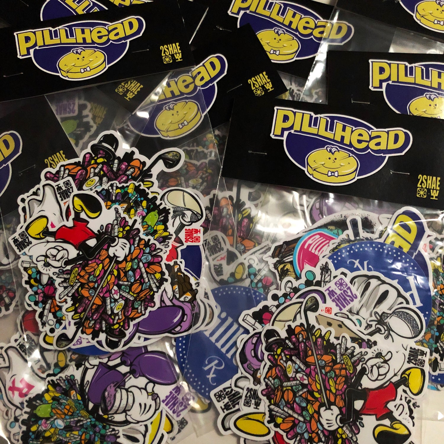 Image of PILLHEAD Sticker Pack