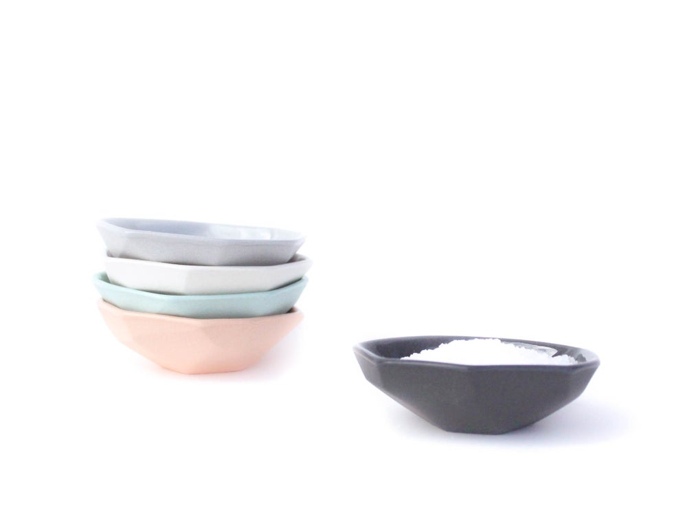 Image of gem salt bowl