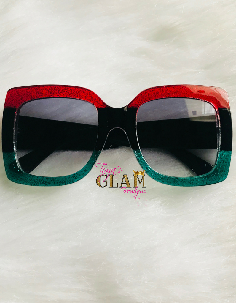 12cc197304eb7 Image of   Trendy Gucci Inspired Sunglasses